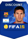 FIFA 15 PS4 Accounts 1000 K Coins