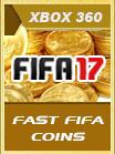 FIFA 17 XBOX 360 Comfort Trade 50 K
