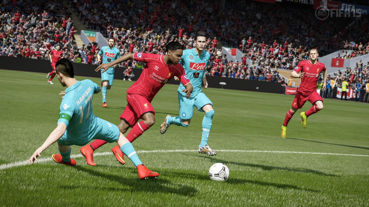 FIFA 15 provides the best looking football action you will find in ...